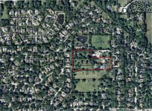 Aerial Farnham Site 2-21-14 red
